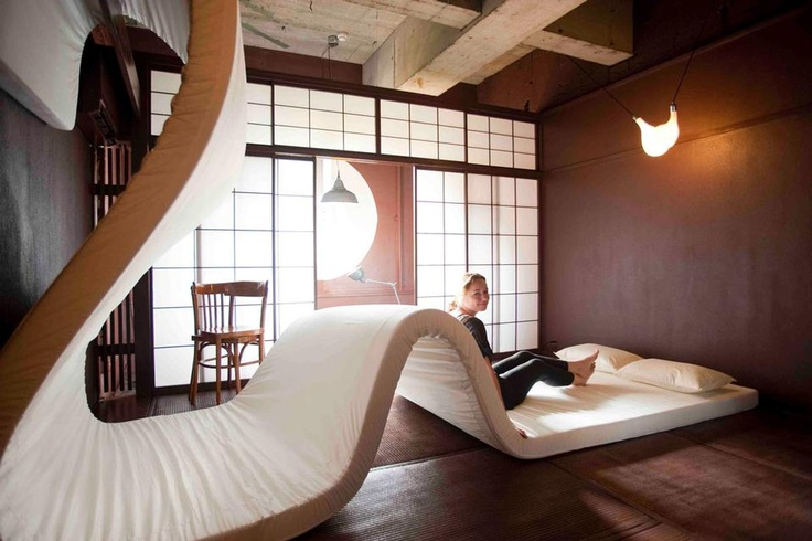 Llove Hotel,  by Suzanne Oxenaar, Jo Nagasaka and seven more dutch and japanese designers..