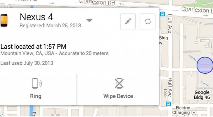 google device manager now get real time location of your smartphone