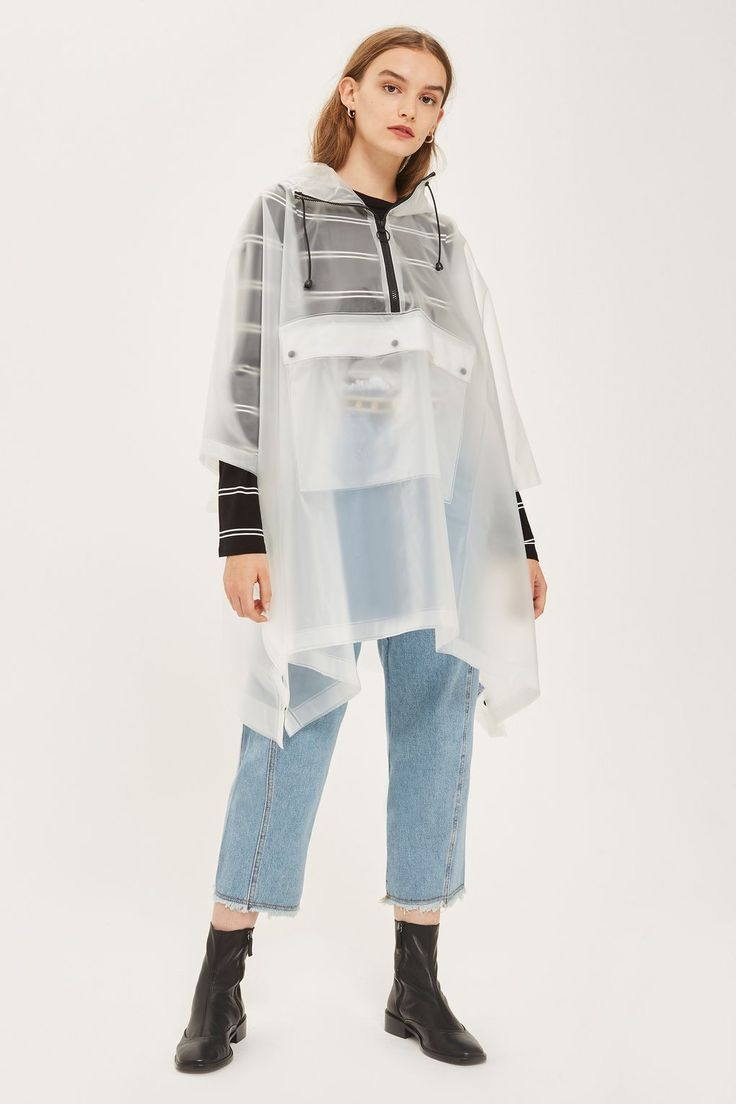 Clear Poncho Raincoat - New In Fashion - New In - Topshop Europe