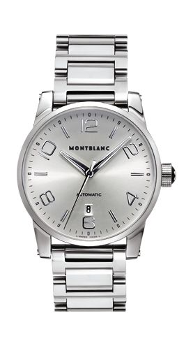 Montblanc timewalker large automatic retail price 2 100 montblanc 4810 401 automatic movement for Retail price watches