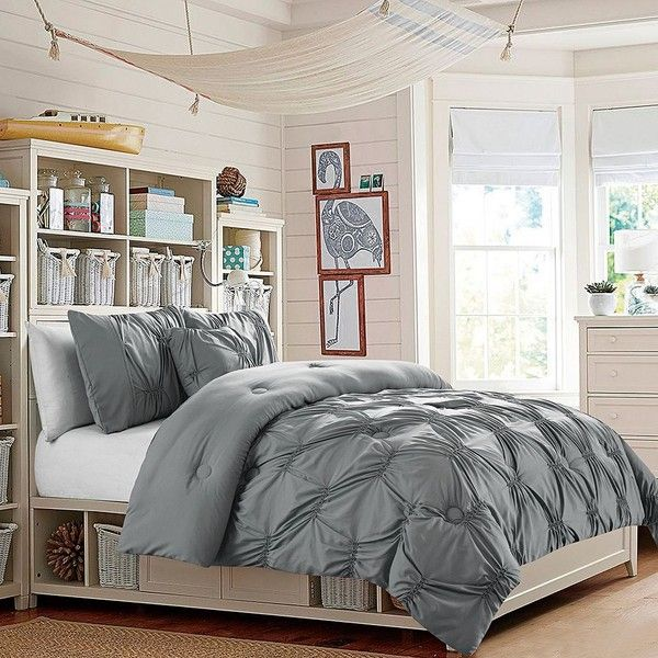 adorned with a beautiful pin tuck design in an array of fashionable colors the trendy bedding is the perfect way