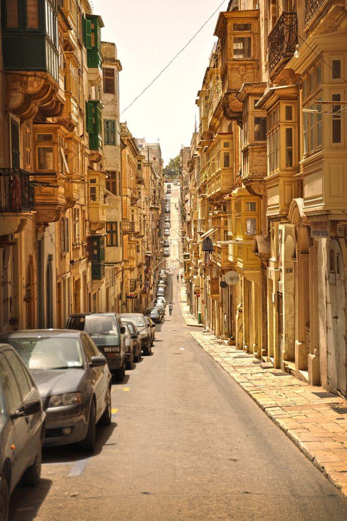 Valetta streets, Malta