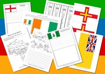 Countries of the Commonwealth Games - activities at Activity Village, free worksheets, printables www.bandltd.org.uk