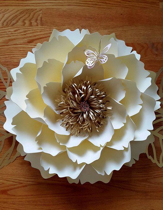 patrn de flor de papel plantilla de flores de papel solamente tutorial de flor