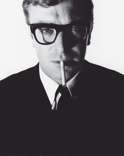 Michael Caine by David Bailey, 1965. #LegendaryStyle
