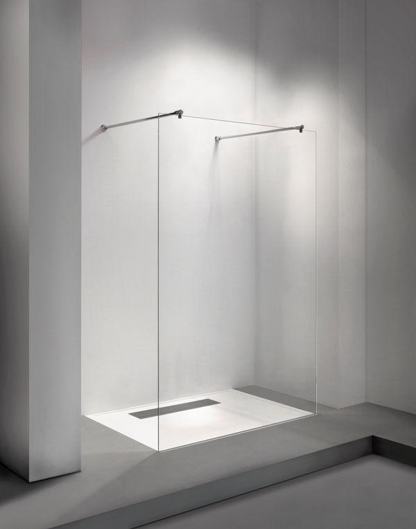 Vrijstaande inloopdouche Clear 71 | Balance Bathroom