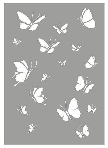 Butterfly Stencils