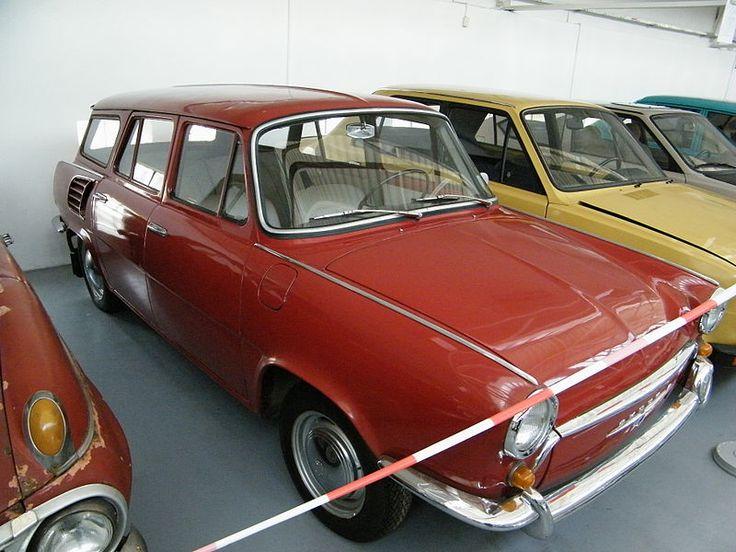 Škoda 1000 MB prototype combi body