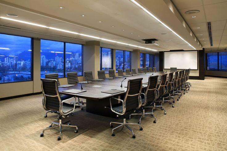 SSDG Interiors Inc.   workplace finance: Executive Boardroom