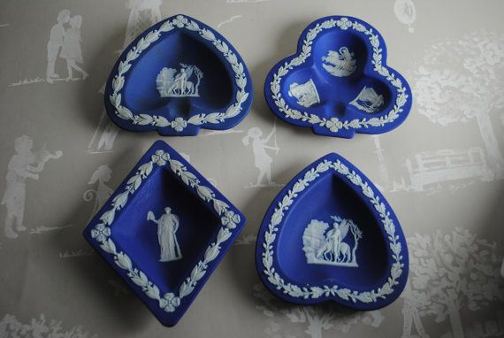 Diamond Club Spade Heart Wedgwood Wedgewood Jasperware by Sarpri