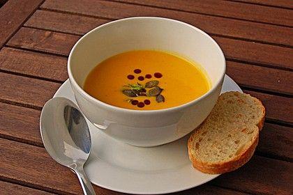 Kürbissuppe mit Ingwer und Kokosmilch, ein raffiniertes Rezept aus der Kategorie Gemüse. Bewertungen: 1.605. Durchschnitt: Ø 4,6.