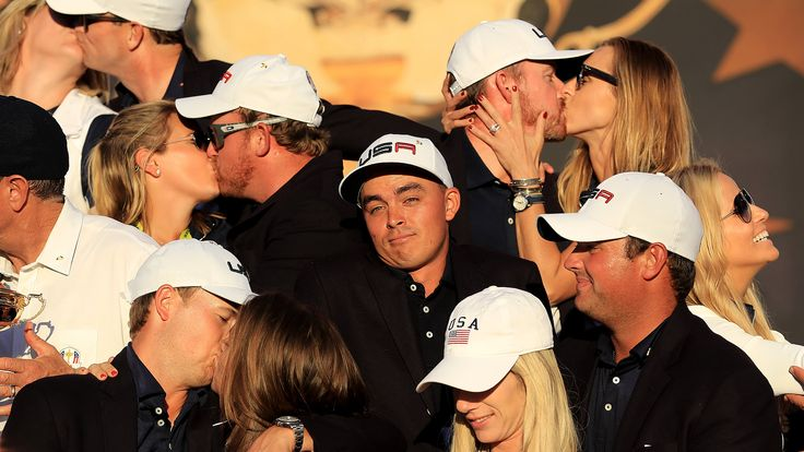 Poor Rickie Fowler: Ain't got no one to kiss at 2016 Ryder Cup | Golf Channel