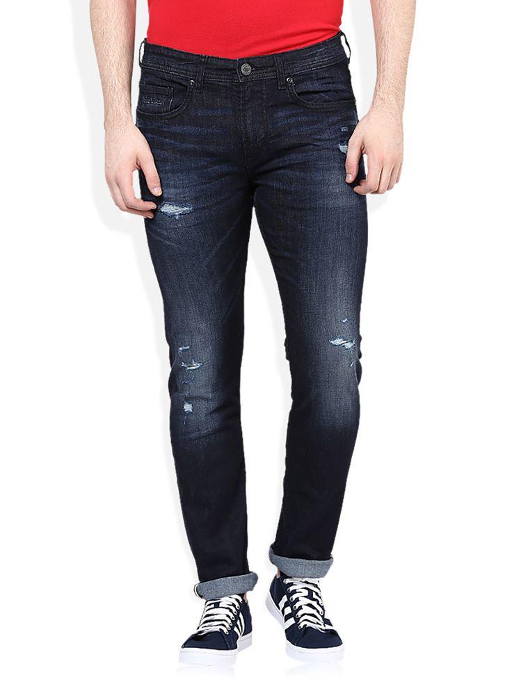 Jean Mens Bruce Conique D'ajustement Des Jeans Croisent Nd5B6O