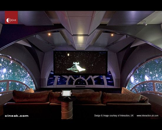 This Star Wars Themed Home Theater Uses CINEAK Fortuny And Intimo Luxury Home  Theater Seats. Media Room DesignHome ... Part 86