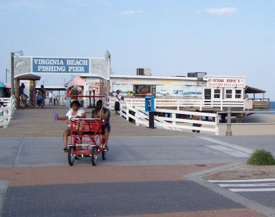 Explore 3 Miles of Oceanfront Fun on the Virginia Beach Boardwalk: Virginia Beach Fishing Pier
