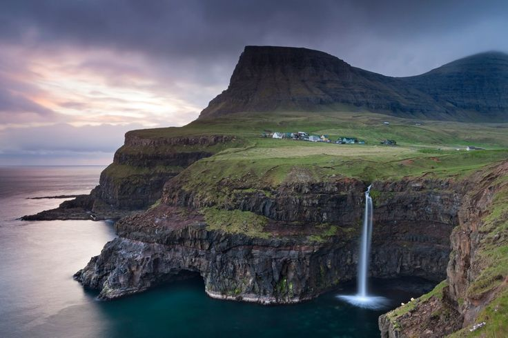About halfway between Norway and Iceland, the Faroe Islands are a self-governed country within the Kingdom of Denmark. The Faroese, descended from the 9th century Norse settlers, have long made their living from the sea, and visitors will find many opportunities to take to the waters on fishing expeditions, whale watching trips, and birding tours. On dry land, take a hike to view puffins or pay a visit to a traditional farm or blacksmith.