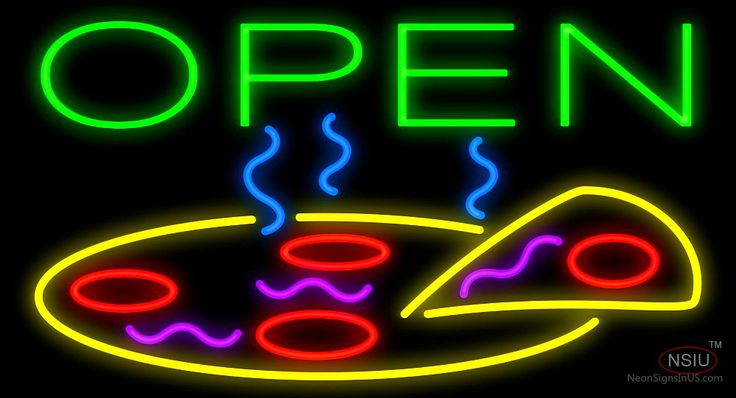 Open Pizza Real Neon Glass Tube Neon Signs,Affordable and durable,Made in USA,if you want to get it ,please click the visit button or go to my website,you can get everything neon from us. based in CA USA, free shipping and 1 year warranty , 24/7 service
