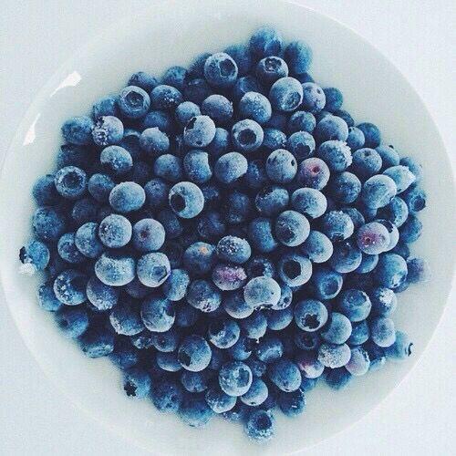 Yum...blueberries....