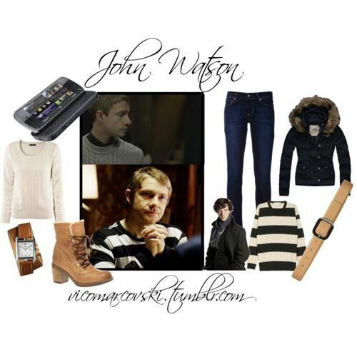 BBC Sherlock John Watson outfit...and then I.realised I am a lot like a female…