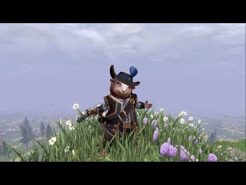 Crowfall game, Guinecean Duelist (rogue/assassin with a gun and a sword). For more about the game, check it's site - https://crowfall.com/ #gaming #MMO #MMORPG #RPG #crowfall #PvP #multiplayer #voxels #VR #virtualreality #guineapig #video #youtube #assassin #rogue #fantasy