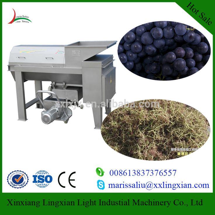 Large Scale Grape Crusher Destemmer/Grape Stem Separator/Grape Crushing Machine