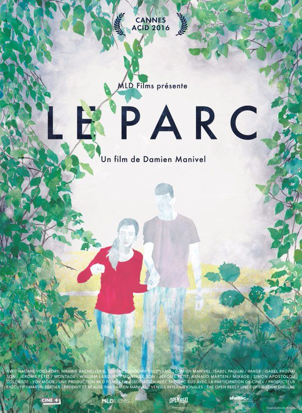 Le Parc (The Park) by Damien Manivel. #Cannes2016 ACID.  Poster.