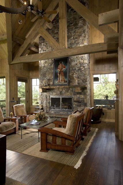 Rocky Mountain Log Homes Featured Log Accents Log
