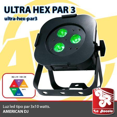 LUZ LED / ULTRA HEX PAR 3