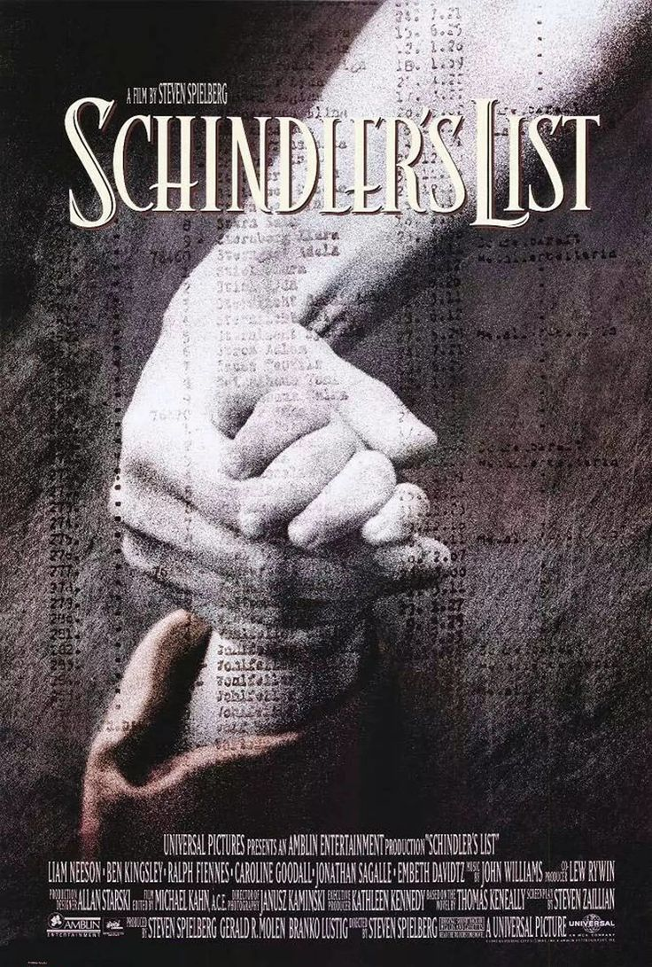 A Lista de Schindler (Schindler's List, Steven Spielberg)