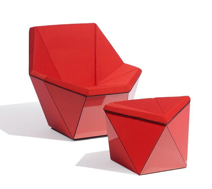 David Adjayeu0027s Prism Lounge Series For Knoll. Moderne Wohnzimmer  MöbelModerne ...
