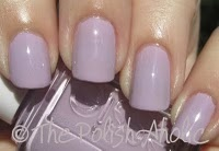 """Essie """"Nice is Nice"""". Perfect nail color for olive skin."""