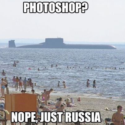 Oh those crazy RussiansSubmarines, Buckets Lists, Laugh, Russia, Travel Pictures, At The Beach, Funny Stuff, Humor, Things