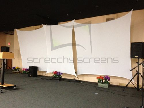 Photo Gallery Of Stretch Shapes And Screens Used In Events Our Are Perfect For Church Stage Backdrops Theatrical