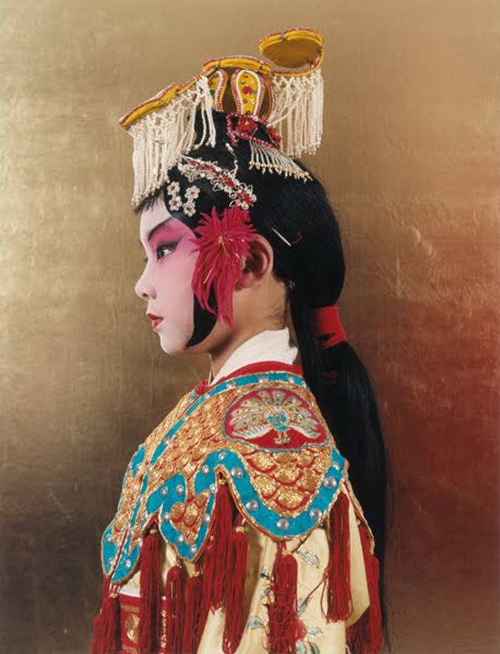 from the chinese opera farewell my concubine... watched the movie the other night and it was great!