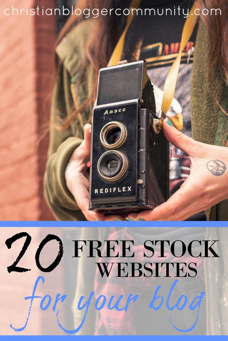 Here are 20 free stock websites you can use to find photos for your blog!