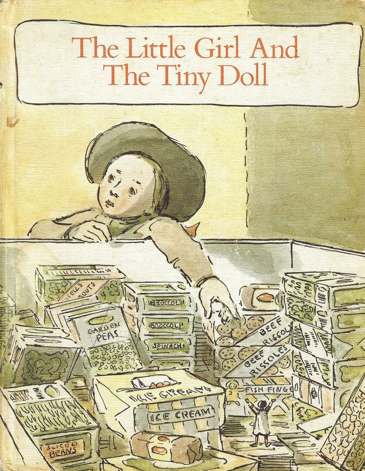 Flotsam Friends: The Little Girl And The Tiny Doll... My Favourite... What's…