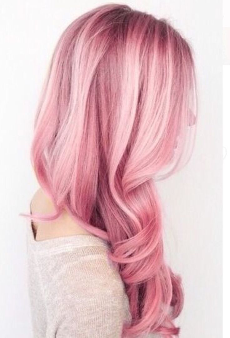 Pink hair - Don't care