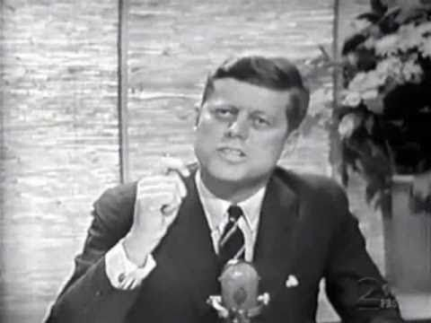 Video of Senator John F. Kennedy on the Tonight Show with Jack Paar on June 16, 1960.  JFK was campaigning for the U.S. presidency.