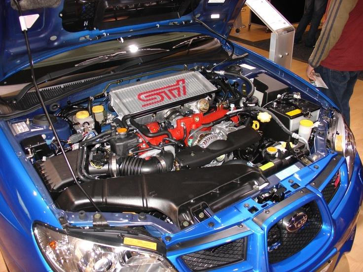 Subaru WRX STi Engine Bay   # Pinterest++ for iPad #