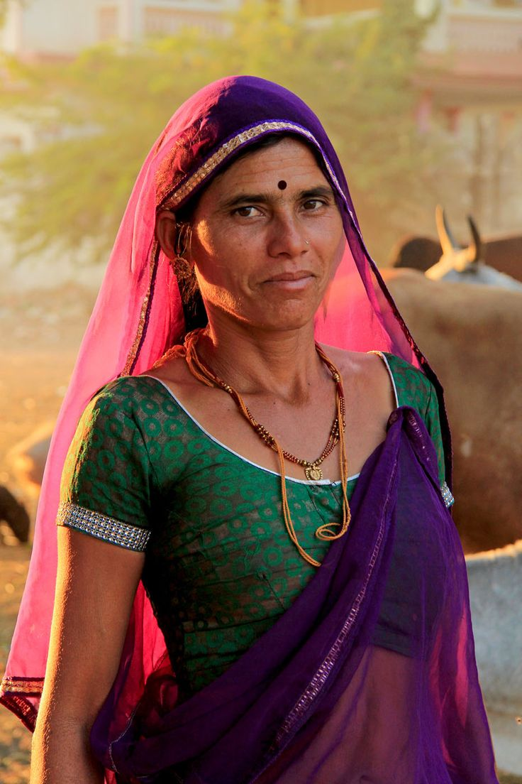 Village Woman, Pushkar