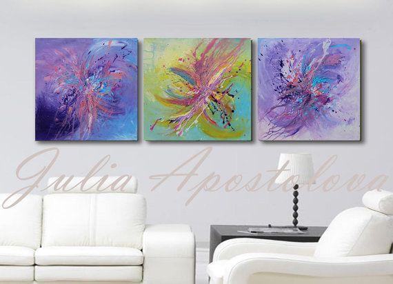 #60inch #Triptych #OriginalPainting #HugeWallArt #Minimalist #AbstractArt #Modernpainting #ModernArt #Triptychpainting #PurpleAbstract #GreeAbstract #GreenPainting #LilacPainting #Turquoisepainting #Etsy #Artforsale #OriginalArt by #JuliaApostolova