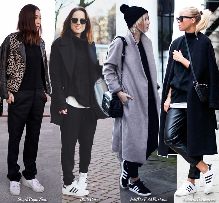 Blue is in Fashion this Year: How to Wear: Minimal Looks + Sneakers