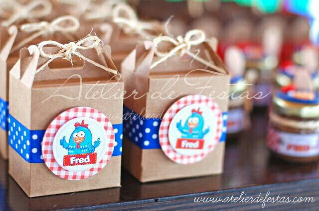 Cajitas de dulces