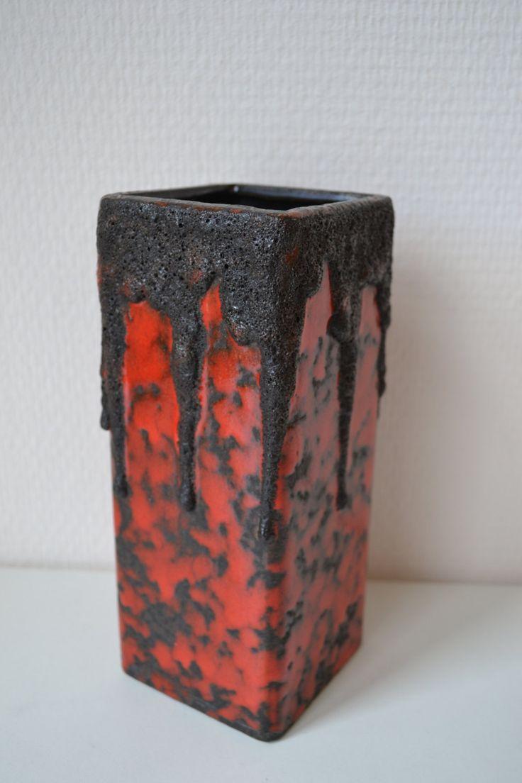 W. Germany Fohr vase. by Vaastastischvintage on Etsy