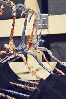 Fabric Hangers! New in our stores and we LOOOOVE them <3  >> Spring it up! <<  Badila SS16 Collection