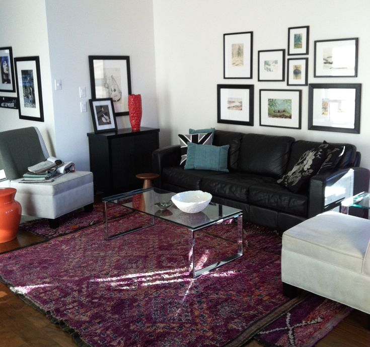 Create Drama in a Room with Creatively Placed Artwork