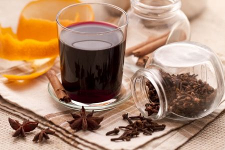Vin brule (Mulled wine)