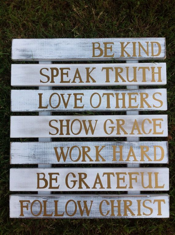 Custom Pallet Sign Family Rules on Etsy, $70.00