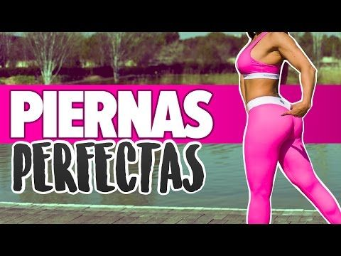 (12) Rutina intensa: PIERNAS DELGADAS Y GLÚTEOS PERFECTOS | Lean Legs & Buns Workout - YouTube