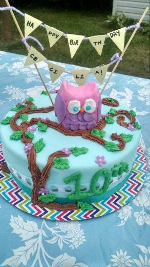 My daughters 10 th birthday cake